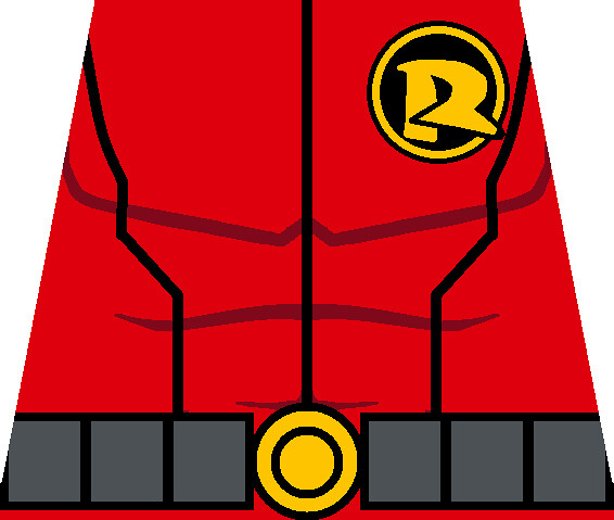 Damian wayne torso thepyromaster tags robin sticker lego wayne batman torso decal minifig