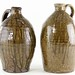 4024. Two Alkaline Glazed Jugs