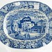 201. 19th Century Transferware Platter