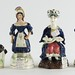 225. Antique Staffordshire Figures