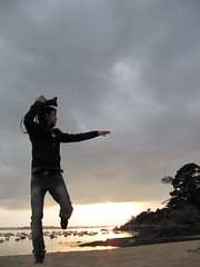 Bretagne - Août 2012 - Une façon très spéciale de shooter... je sais :)