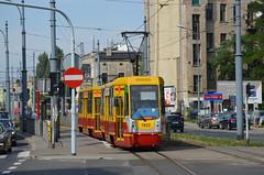 DSC_0221 (xrispixels) Tags: tram poland polen tramway mpk lodz pl d pologne konstal 805na