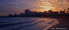 (Dumitru Mihai) Tags: sunset sea beach sand mediterraneo playa vinaroz