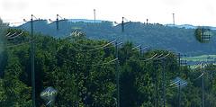 Power line dreams (en tee gee) Tags: newyork hill wires poles picnik 13kv