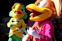 Jose and Panchito (ourdisneydays) Tags: disneyland jose disney panchito josecarioca thethreecaballeros panchitopistoles furcharacter soundsational mickeyssoundsationalparade soundsationalparade donaldsfiestafantastico joseandpanchito