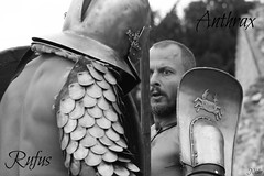 Antrhax e Rufus. Ars Dimicandi.Rmerfest 2012. Augst. (Niobe.31) Tags: gladiator gladiatore augst gladiatoren gladiador retiario arsdimicandi rmerfest