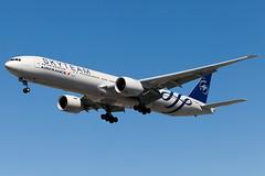 "Air France Boeing 777-300ER F-GZNN ""Skyteam"" (Patcard) Tags: montreal boeing 777 airfrance yul 777300er skyteam 77w fgznn"