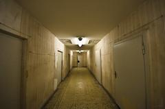 Stasi prison - Corridor (_Zal) Tags: berlin war secret police guerra east prison spy terror ddr est stasi polizia dictatorship berlino prigione terrore spia 816 dittatura segreta