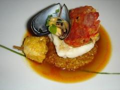 Beautiful seafood dish