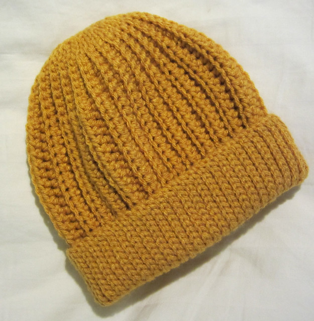 Crochet Seafarer's Cap