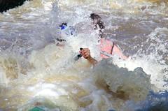 7.8.12 Vyssi Brod Weir 5 090 (donald judge) Tags: river kayak republic czech south canoe raft bohemia vltava brod weir vyssi