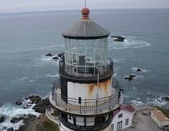 Pigeon Point Lighthouse (El Kite Pics) Tags: california usa lighthouse kite aerial kap pigeonpoint pigeonpointlighthouse