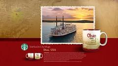Starbucks City Mug Ohio Desktop Wallpaper (Magic Ketchup) Tags: ohio usa collection starbucks mug desktopwallpaper citymugs 2008series