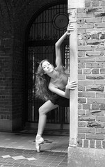 Lily NY (Anka Galuza) Tags: street new bw ballet white black photography photo nikon upper your westside stories d90