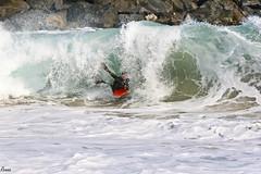 Backwash Monster (Anthony Renna) Tags: ocean guy beach photography barrel wave newport sick bodyboarding bodyboard thewedge renna bodyboarder