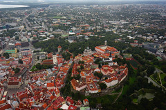 Toompea from Helicopter (tarmo888) Tags: roof church cool nice europe tallinn estonia cathedral sony aerialview medieval unesco explore excellent vista oldtown fortress tallin kirik eesti estland katus tallinna  pikkhermann vanalinn toompea kristiine katedraal niguliste harjumaa alexandernevsky redcolor nevskycathedral toomkirik kaarli tallhermann photoimage sooc punane sonyalpha aleksandernevski vallikraav toompark snelli welcometoestonia schnelli  visitestonia nelli sony geosetter year2012 mytracks