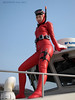 Wetsuited beauty [RED]013 (mixnuts club) Tags: fetish bondage rubber spy diver wetsuits secretagent frogwoman