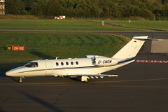 D-CMOM Cessna 525C Citation CJ4 DIEVB GmbH Southampton 14.09.2012 (G550) Tags: southampton cessna citation gmbh cj4 dcmom 525c dievb 14092012