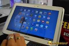 Para los amantes de la tabletas, dos productos aún no lanzados en nuestro en Chile, precios desde $299.900 versión WiFi. Las dos versiones son la Tablet Samsung Galaxy Note 10.1 (Wi-Fi) y la Samsung Galaxy Note 10.1 (Wi-Fi + 4G).