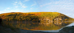 (Almost) Autumn in Nenana (paul_arg) Tags: panorama alaska ak nenana tananariver