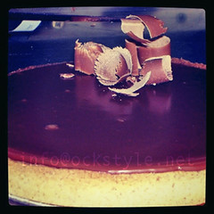 Tarte au Chocolat Ritz!