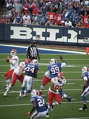 Buffalo Bills vs. Kansas City Chiefs 9.16.12 (MattBritt00) Tags: ny newyork sports football buffalo buffalobills bills stadium nfl quarterback kansascity chiefs afc americanfootball orchardpark footballstadium kansascitychiefs ralphwilsonstadium mattcassel nationalfootballleague mariowilliams americanfootballconference terrencemcgee marcelldareus