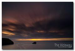 Portreath sunset (Simon Bone Photography) Tags: longexposure sea sky cloud sun reflection beach silhouette cornwall smooth le portreath gullrock cornishcoast canon1740mmlf4 cornishsunsets wwwthehidawaycouk canoneos7d hoyandx400 9stopfilter hitechnd09reversegrad