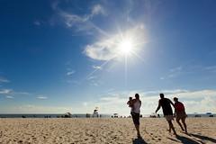 Cape May Flare (soupatraveler) Tags: ocean vacation sky people usa holiday beach walking shadows getaway nj capemay waking philadelphiaphotographer soupatraveler hollyeclark hollyclarkphotography wwwhollyclarkphotographycom hollyclarkphoto