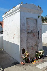 Marie Laveau Grave site (mrfuttz) Tags: grave marie dead buried witch tomb offering devil xxx voodoo laveau