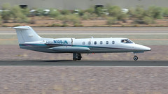 Gates Learjet 35A N108JN (ChrisK48) Tags: 1980 35 aircraft airplane dvt gateslearjet35a kdvt lear n108jn phoenixaz phoenixdeervalleyairport