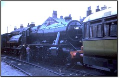 Preserved Steam in the 1970's - 5 (trafalgar45682) Tags: stanier 8f 48431 haworth yard preserved steam