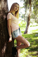 Pretty Young Flower (dreamdust2022) Tags: girl sweet cute charming pretty playful happy sassy teenage child young little lady beautiful