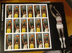 Wilt Chamberlain U. S. Postage Stamps (*hajee) Tags: 76ers warriors lakers center billrussell 100pointgame