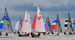 GP14 Northern Sailing Championship 2016 (sab89) Tags: gp 14 northern sailing championship 2016 west kirby club super 6 series dingy wirral marine lake sea north gp14 river dee estuary racing race two day event tidal dinghy