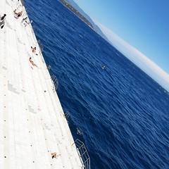Monaco, beach (Natalia Szeifert) Tags: beach monaco travel summer sunshine sea blue bluesky bluesea water french frenchriviera holyday