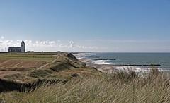 Kysten ved Trans Kirke (Walter Johannesen) Tags: landskab natur landscape nature kyst coast hav sea bovbjerg