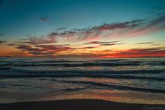 Hellest beach (Jasmin Mehic) Tags: hellest beach sunset light colors water ocean sea sky clouds norway rogaland landscape