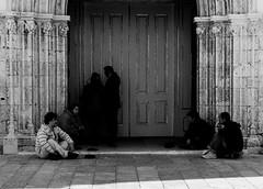 Beggars (Vitor Pina) Tags: people street monochrome blackandwhite peopel photography urban streets candid pretoebranco pessoas city cidade