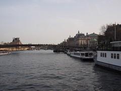 (procrast8) Tags: paris france river seine passarelle selferino leopold sedar senghor bridge musee museum dorsay