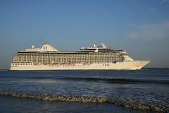 Marina DST_3718 (larry_antwerp) Tags: marina 9438066 cruise antwerp antwerpen       port        belgium belgi          schip ship vessel        schelde        oceaniacruises kisa kisaagencies