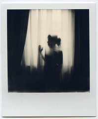 Summer, dawn, curtain (Nightdriver) Tags: polaroid polaroidsx70 sx70 instantphotography instantcamera instantphoto instant