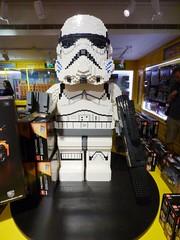 Lego Stormtrooper Harrods London Aug 2016 (symonmreynolds) Tags: lego stormtrooper harrods starwars london august 2016