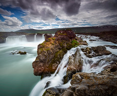 Goa Flows (Marshall Ward) Tags: goafoss iceland roadtrip landscape waterfalls waterfall water longexposure leefilters nikond800 afszoomnikkor2470mmf28ged marshallward mwardphotographycom afs zoom 1635mm
