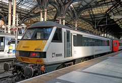 UK, London Liverpool Street, Class90 005 named
