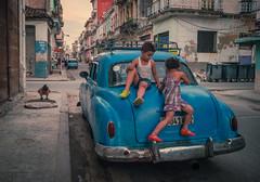 Street of Havana - Cuba (IV2K) Tags: havana habana lahabana cuba cuban cubans tuba caribbean street sony rx1 child children vintage castro fidel fidelcastro