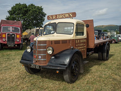 Bedford O Type - JSV 101 (Ben Matthews1992) Tags: welland steam rally 2016 classic commercial old vintage historic preserved preservation vehicle transport haulage lorry wagon waggon truck british england bedford otype jsv101 1950 brown