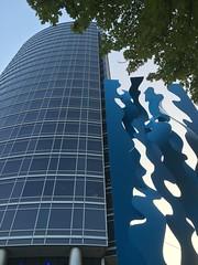 JW Marriott - Grand Rapids (Vernon Brad Bell) Tags: building architecture art blue hotel marriott
