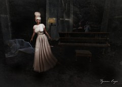 0824 1 - Of What I Once Was (Nyenna.E) Tags: lelutka collabor88 secondlife slink pixicat 7deadlyskins ghost