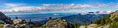 View to Vancouver from Seymour 3rd peak (jamiepacker99) Tags: janeandjon westvancouver seymour3peaks hike