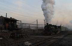 I_B_IMG_9091 (florian_grupp) Tags: asia china steam train railway railroad fuxin liaoning sy coal mine 282 mikado steamlocomotive locomotive